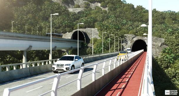 Novo Joá: prefeitura implanta via paralela e promove melhorias na Autoestrada Lagoa-Barra
