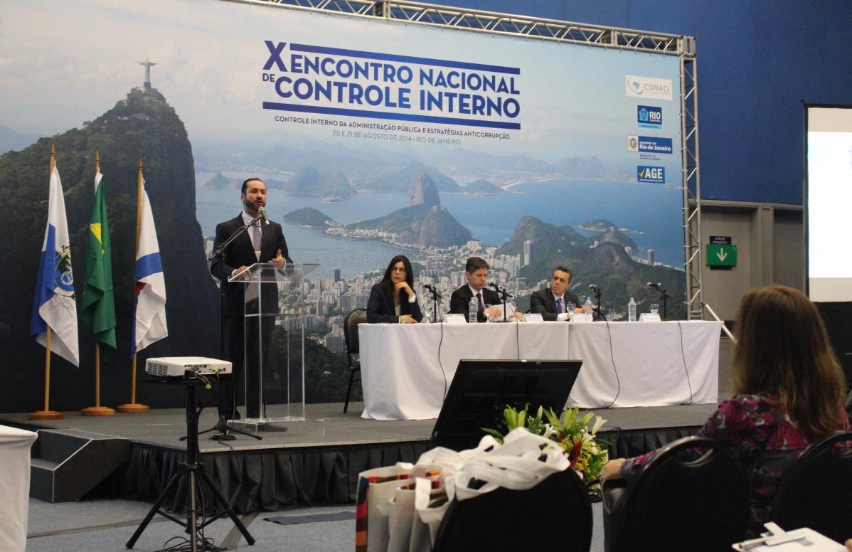 X Encontro Nacional de Controle Interno (20/08) parte da tarde