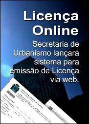 Banner SMU - Licença Online