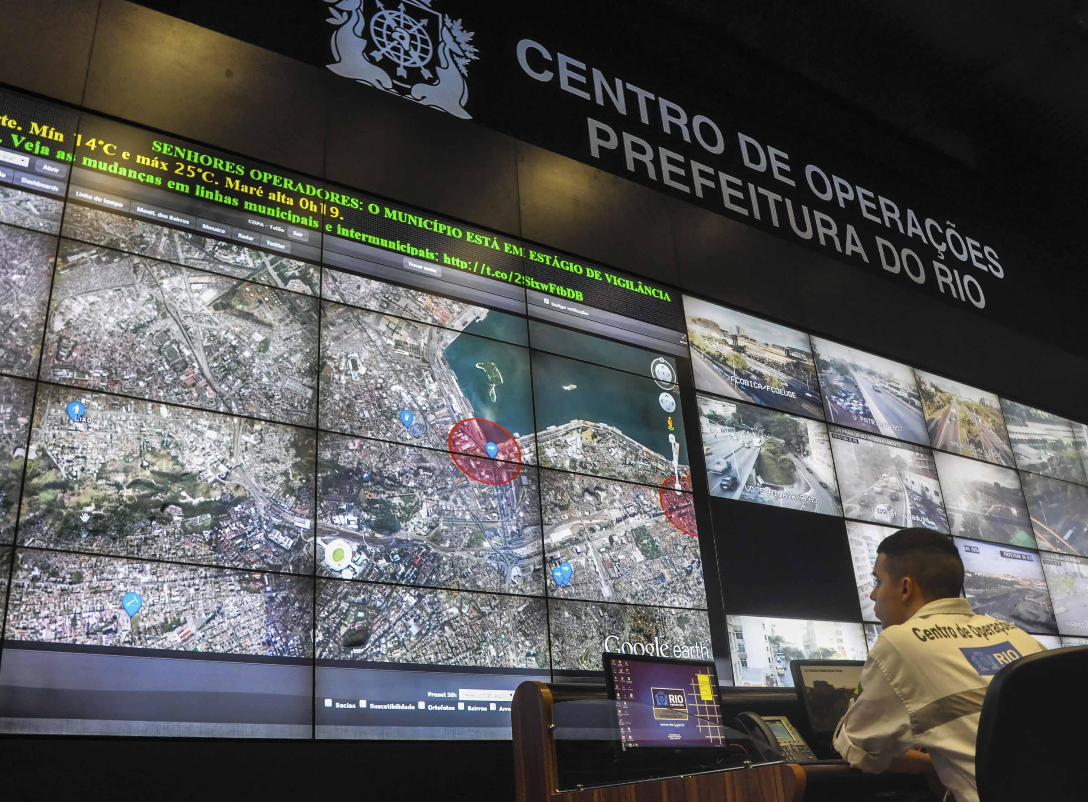 """App """"Olhos da Cidade"""" é novo canal de comunicação da população com o Centro de Operações Rio"""