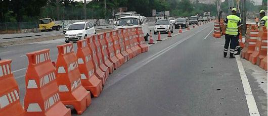 BRT Transbrasil: ajustes operacionais temporários no tráfego
