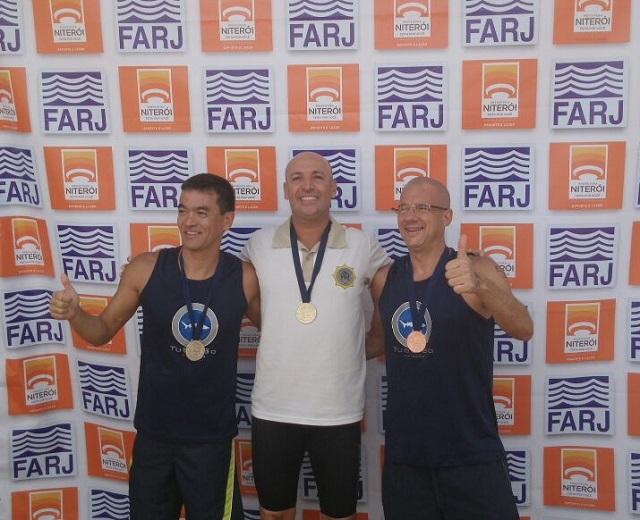 Guarda conquista 1ª Etapa do Estadual de Maratona Aquática