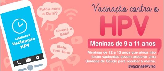 Banner HPV - janeiro de 2015