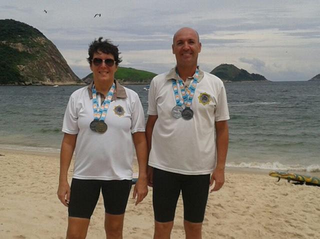 Guardas conquistam medalhas em Circuito Estadual de Maratonas Aquáticas