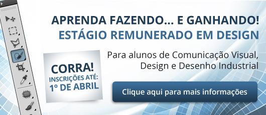 Banner Estágio Design 2015
