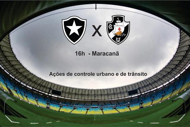 GM-Rio atua com 400 agentes na final do Carioca entre Botafogo e Vasco