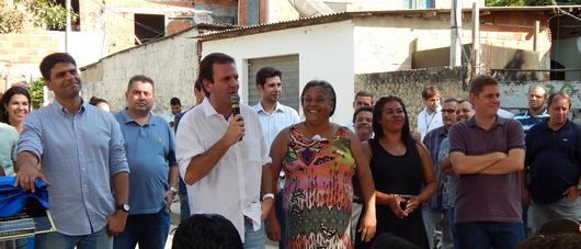Prefeitura inaugura obras do Bairro Maravilha em Curicica e Vargem Grande