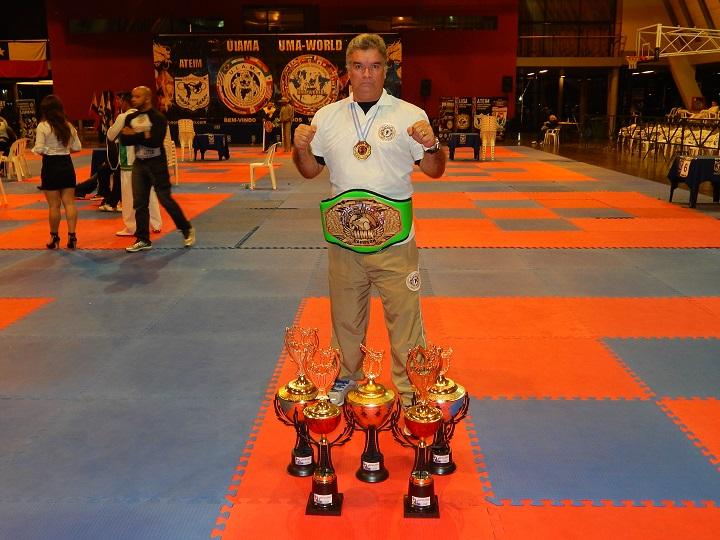 Atletas da GM-Rio conquistam nove medalhas de ouro  na 1ª etapa do Mundial de Artes Marciais