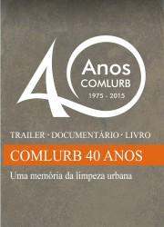 Banner Lateral - 40 Anos de Comlurb