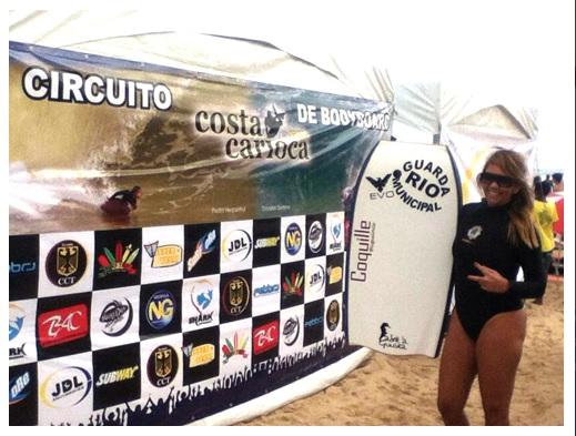 Guarda conquista segundo lugar na  1ª etapa do Circuito Costa Carioca