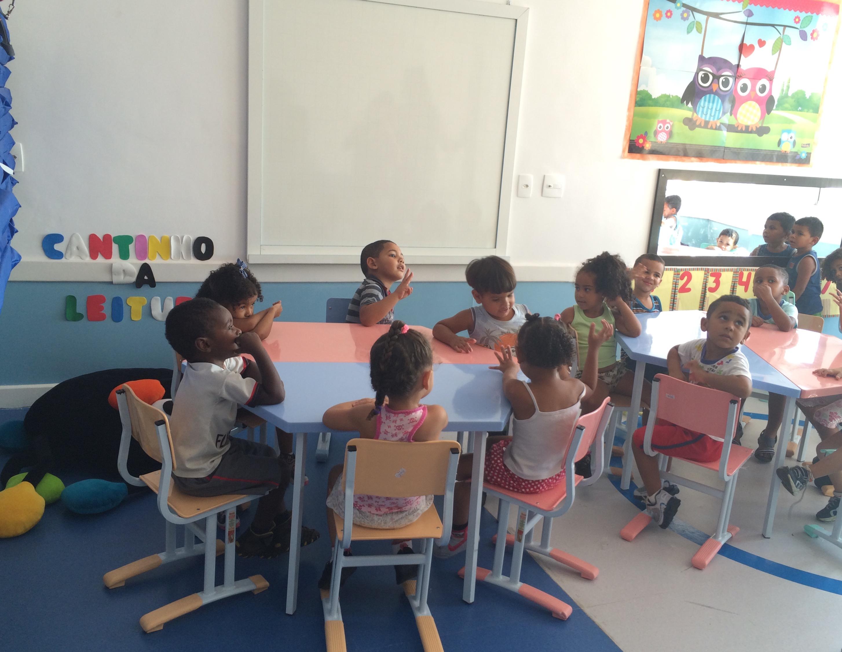 Inauguração da Creche Comunitária João Ferreira no Complexo do Alemão