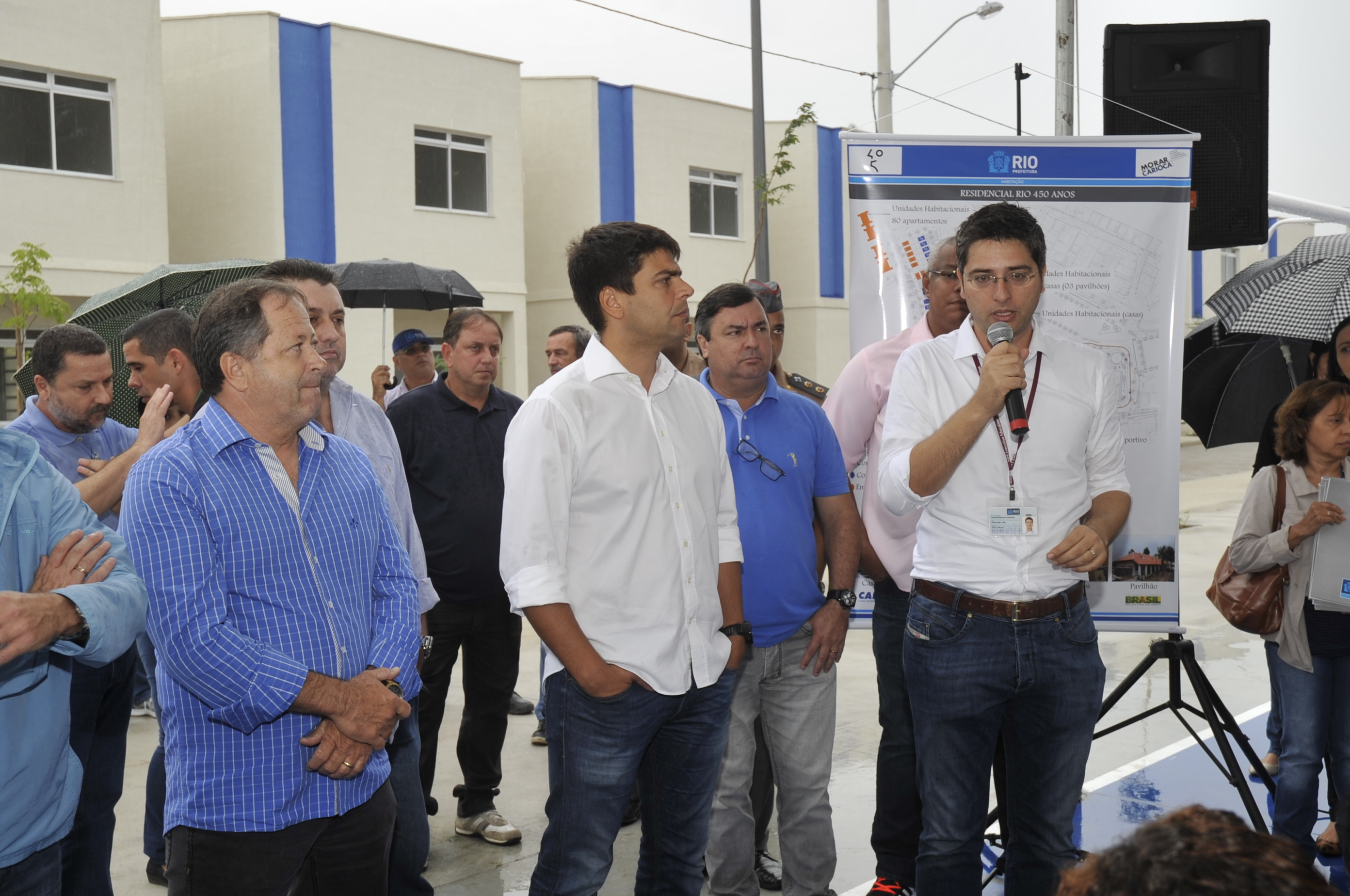 Prefeitura entrega casas do Programa Morar Carioca na Colônia Juliano Moreira