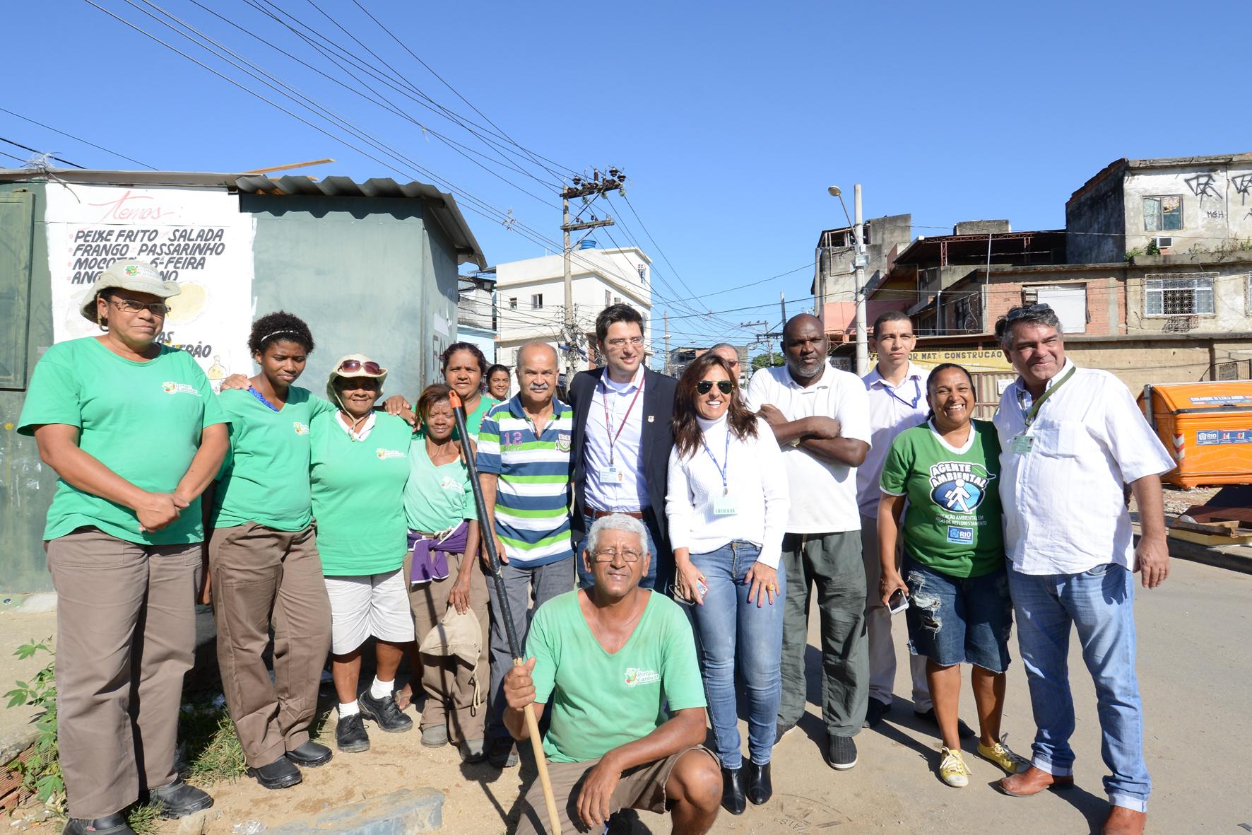 Secretara Municipal de Habitação capacita trabalhadores do Projeto Hortas Cariocas em Manguinhos
