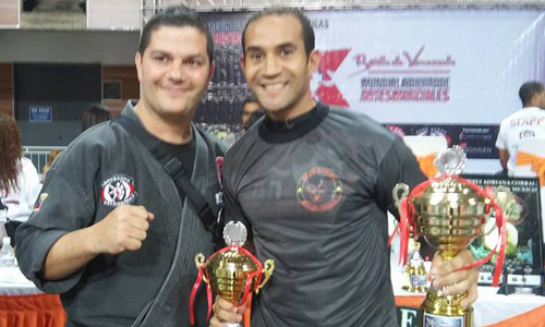 Guarda conquista três ouros em mundial de artes marciais