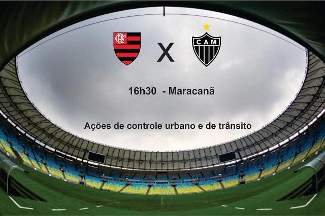 Brasileirão: GM-Rio atua com 206 agentes na partida entre Flamengo e Atlético-MG