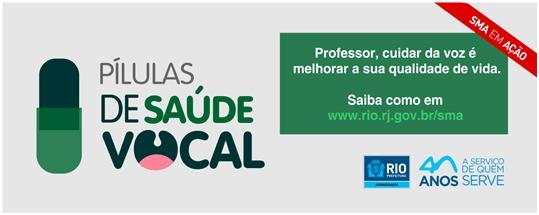 Secretaria de Administração lança vídeos com dicas de Saúde Vocal