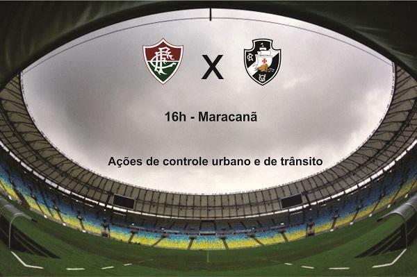 Brasileirão: GM-Rio atua com 345 agentes nos jogos do fim de semana no Maracanã