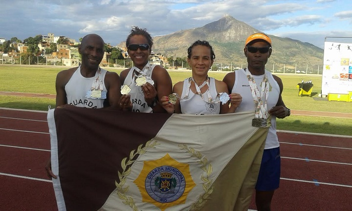 Guardas conquistam 28 medalhas em competições esportivas neste fim de semana