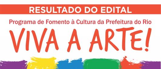Resultado Edital Viva a Arte!