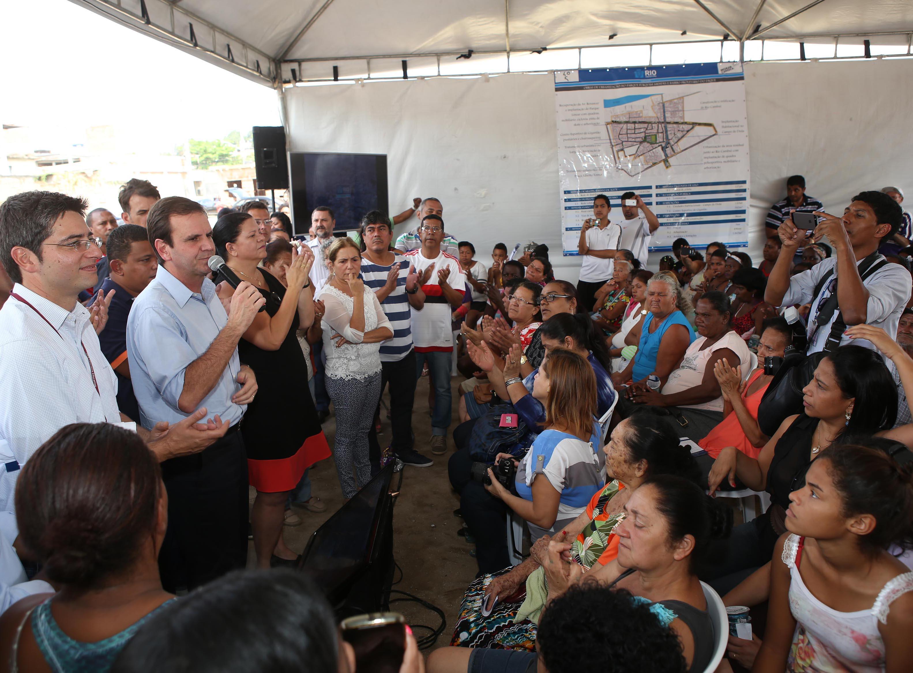 Prefeitura apresenta projeto de obras de urbanização no Jardim América