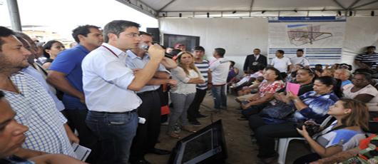 Prefeitura apresenta projeto de obras de urbanização no Parque Furquim Mendes e no Bairro Proletário
