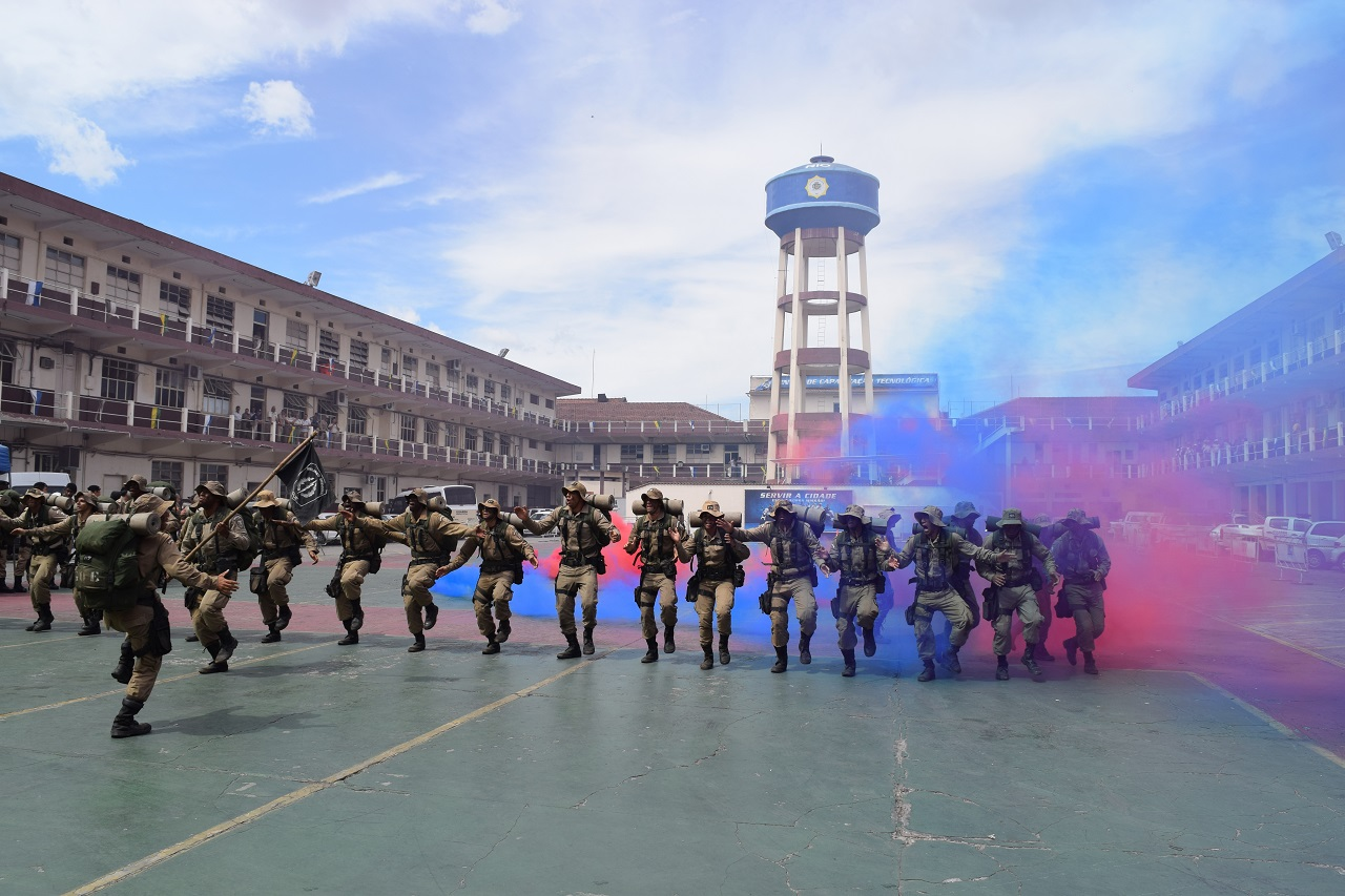 Grupamento de Operações Especiais forma novos guardas