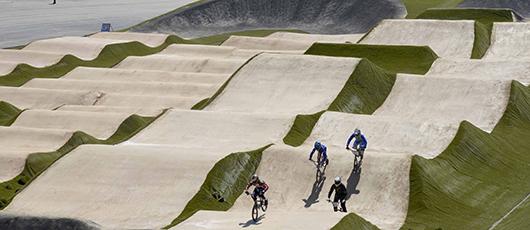 Prefeitura apresenta a pista de ciclismo BMX dos Jogos Rio 2016