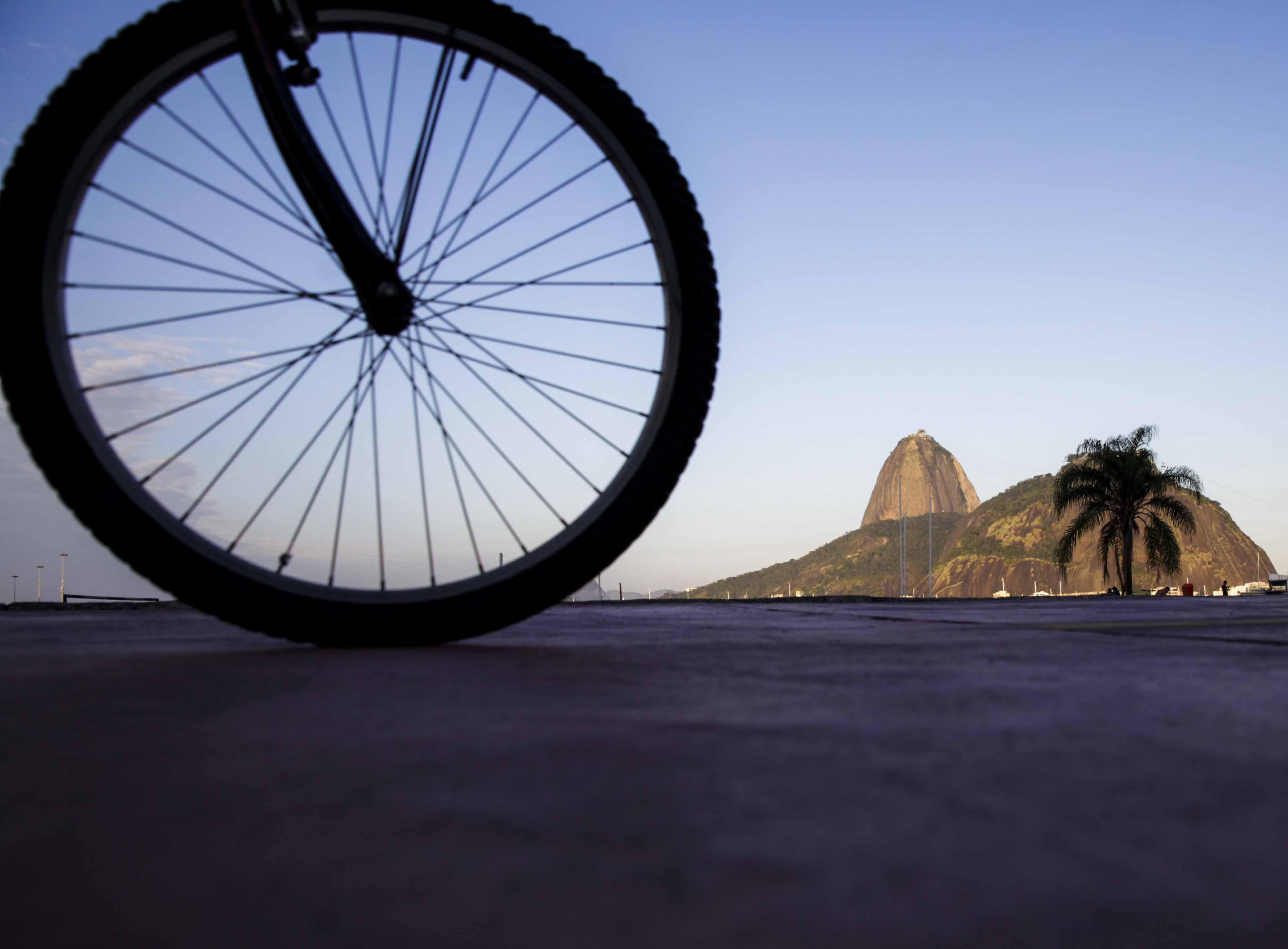 Rio incentiva o uso da bicicleta para comemorar o Dia Mundial Sem Carro