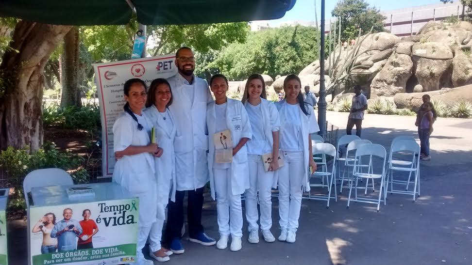 <Strong>Campo de Santana recebe ação de conscientização sobre doação de órgãos</Strong>