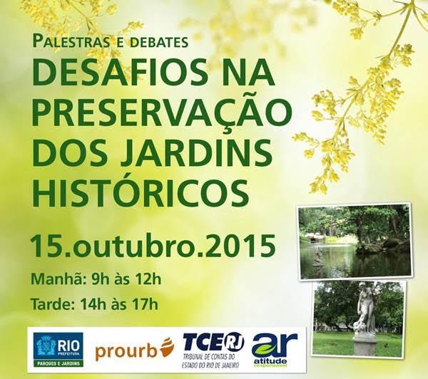 <STRONG>Desafios na Preservação dos Jardins Históricos</strong>