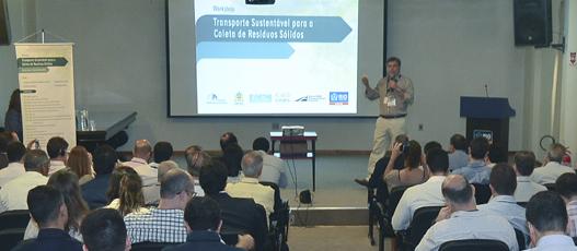 """Comlurb promove seminário """"Transporte Sustentável para a Coleta de Resíduos Sólidos"""""""