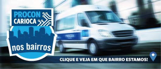Procon Carioca nos bairros