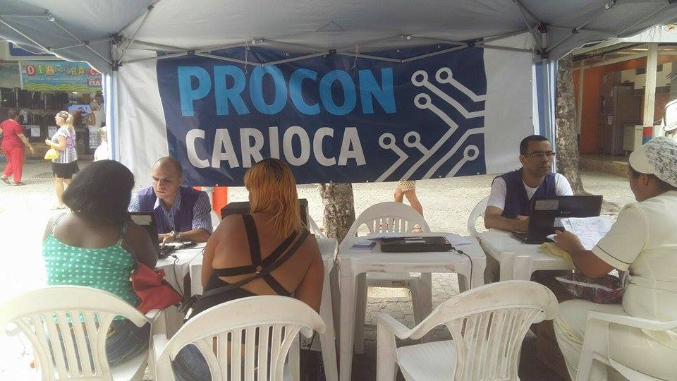 Procon Carioca atende no Rio Comprido