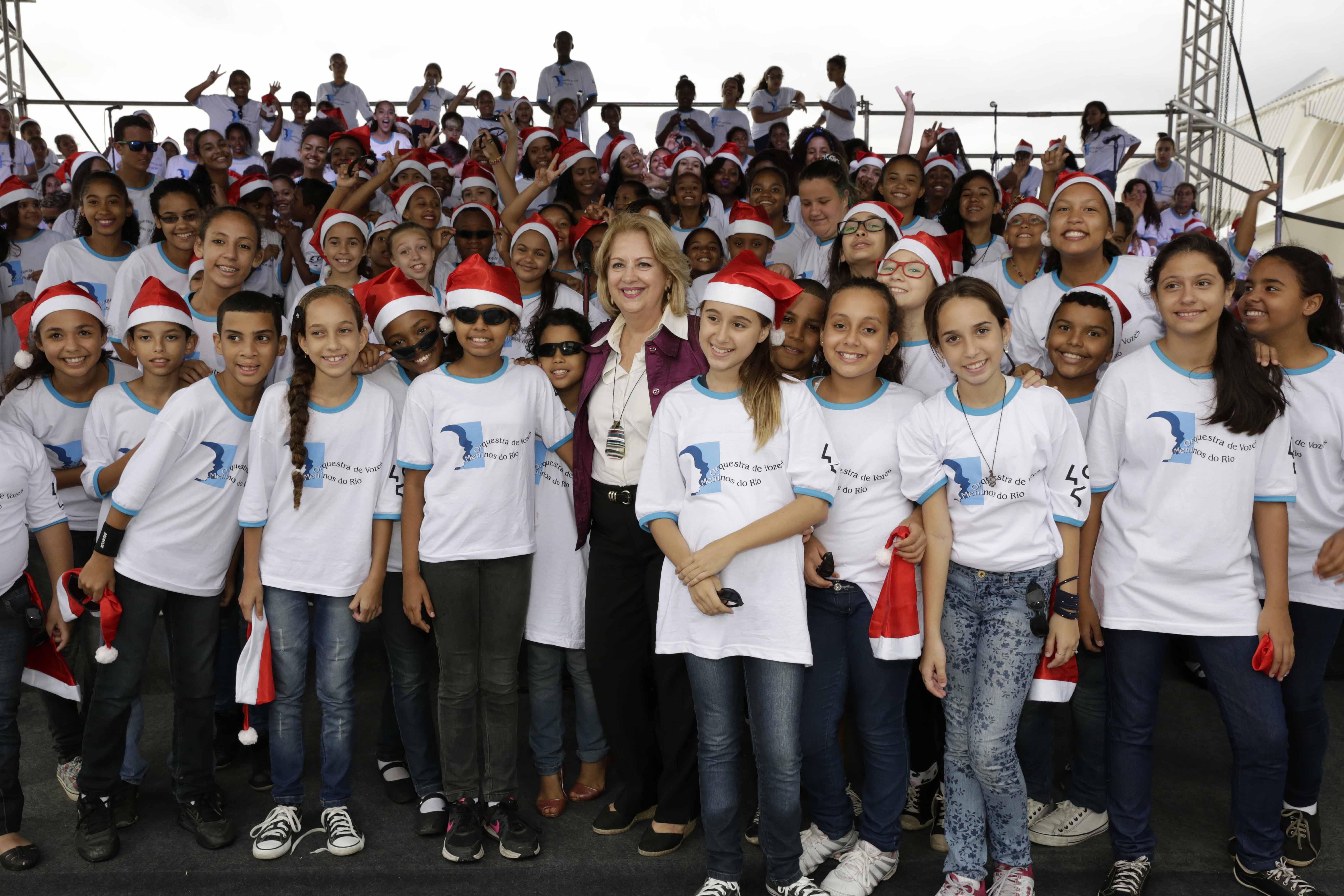 Orquestra de Vozes Meninos do Rio celebra os 450 anos do Rio na Praça Mauá
