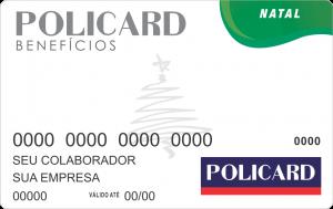 """Cartão de Natal """"Policard"""" - Rede Credenciada"""
