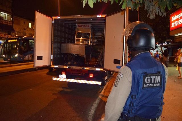 Guarda Municipal realiza operação de ordenamento na Taquara