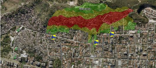 Conheça os mapas do Sistema de Alerta e Alarme Comunitário para Chuvas Fortes