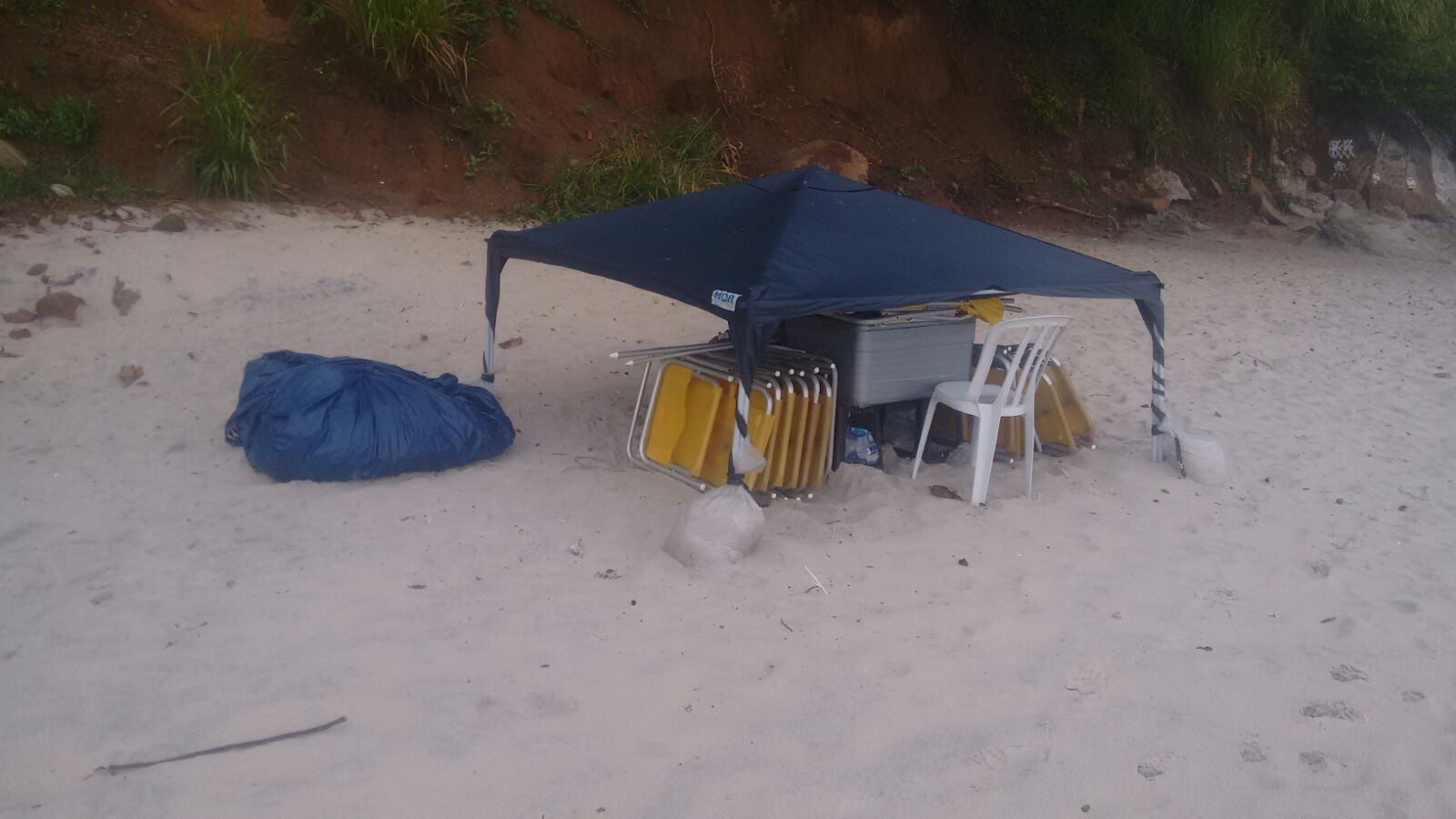 Guarda Municipal apreende material irregular na Praia de Abricó