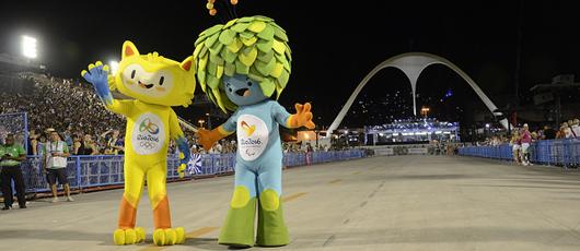 Um carnaval de números olímpicos para o turismo