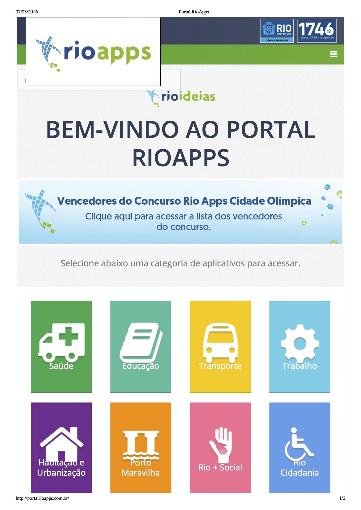 """Secretaria lança """"Portal de Aplicativos para uma Cidade Inteligente"""""""