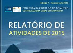 CGM-RJ publica seu Relatório de Atividades 2015 e Diretrizes para 2016
