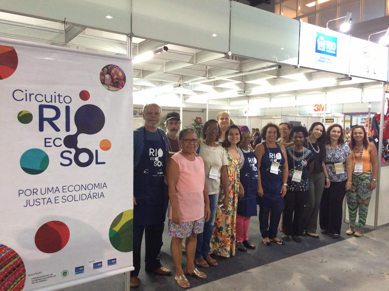 Rio Ecosol participa da 10ª Rio Artes Manuais