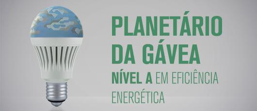 """Fundação Planetário recebe etiqueta """"A"""" de Eficiência Energética do Inmetro"""