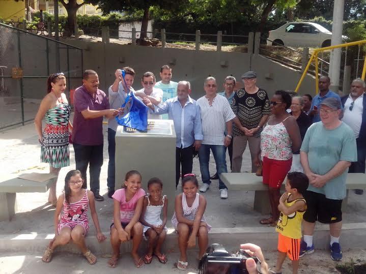 <strong>Fundação Parques e Jardins inaugura praça no bairro Jardim Boiuna, em Jacarepaguá</strong>