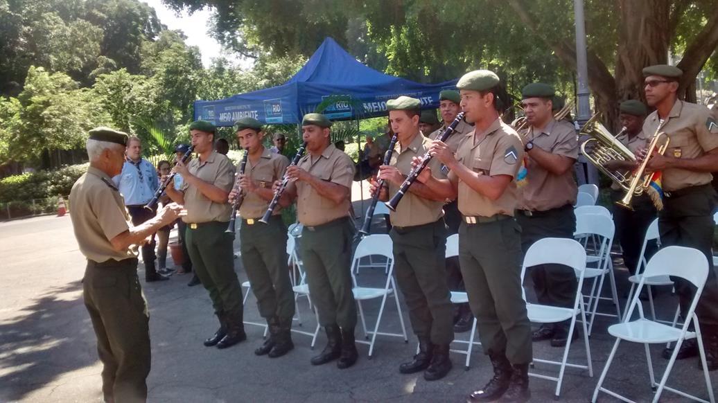 <strong>Dia do Exército é comemorado no Campo de Santana</strong>