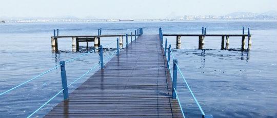Ilha: deque da Praia da Bica é revitalizado