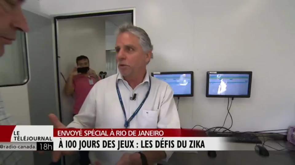 TV canadense visita CER Barra e elogia instalações