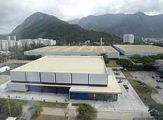 Prefeito apresenta novo pavilhão do Riocentro para os Jogos Rio 2016