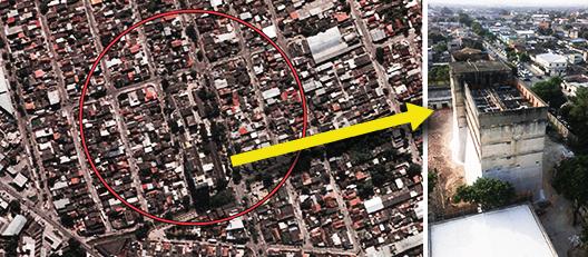 Prefeitura implode prédio e anexo desativados ao lado do hospital Albert Schweitzer