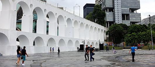 Prefeitura revitaliza os Arcos da Lapa